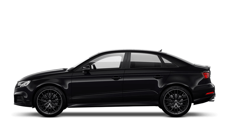Panther Black (Crystal) Audi S3 Saloon