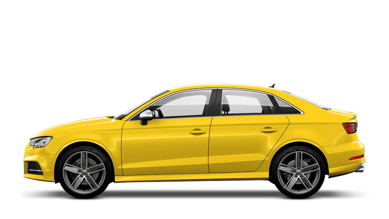 Vegas Yellow (Special Solid) Audi S3 Saloon