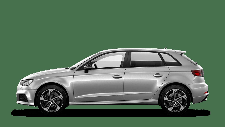 Floret Silver (Metallic) Audi S3 Sportback