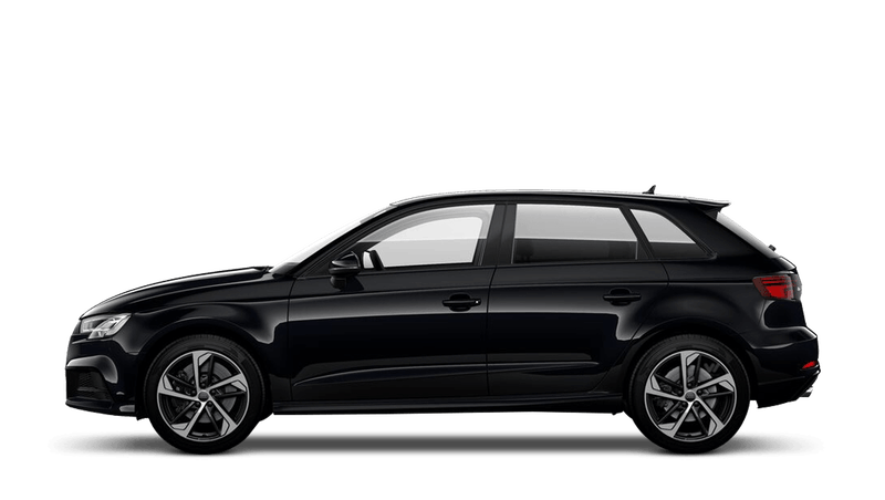 Mythos Black (Metallic) Audi S3 Sportback