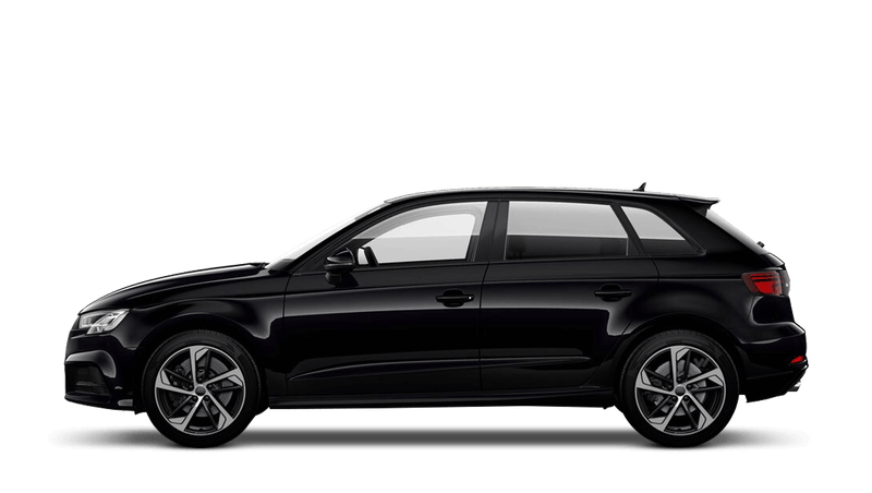 Panther Black (Crystal) Audi S3 Sportback