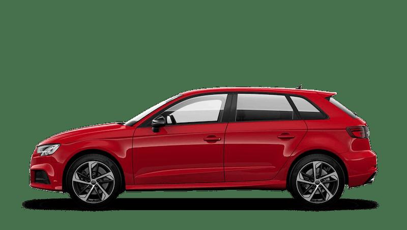 Tango Red (Metallic) Audi S3 Sportback