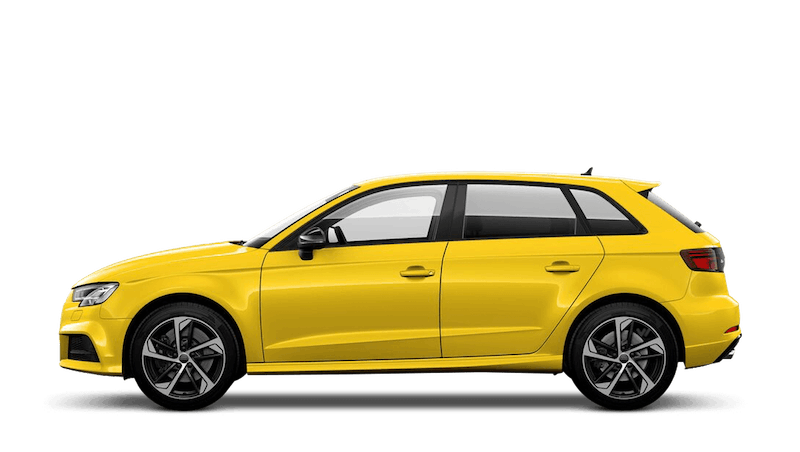 Vegas Yellow (Special Solid) Audi S3 Sportback