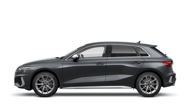 Daytona Grey (Pearl) Audi S3 Sportback