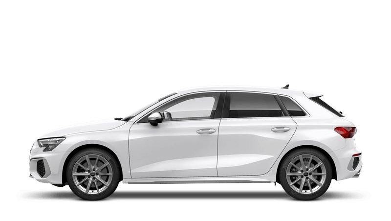 Ibis White (Solid) Audi S3 Sportback
