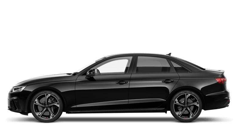 Mythos Black (Metallic) Audi S4 Saloon