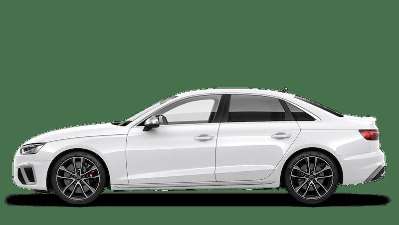 Ibis White (Solid) Audi S4 Saloon