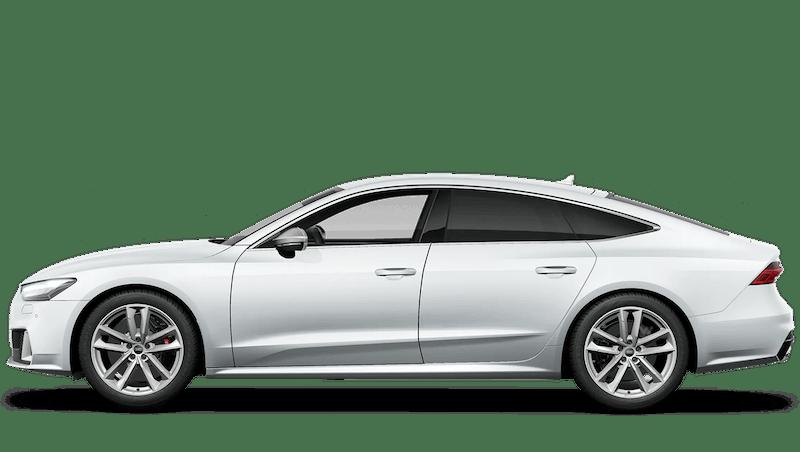 Glacier White (Metallic) Audi S7 Sportback