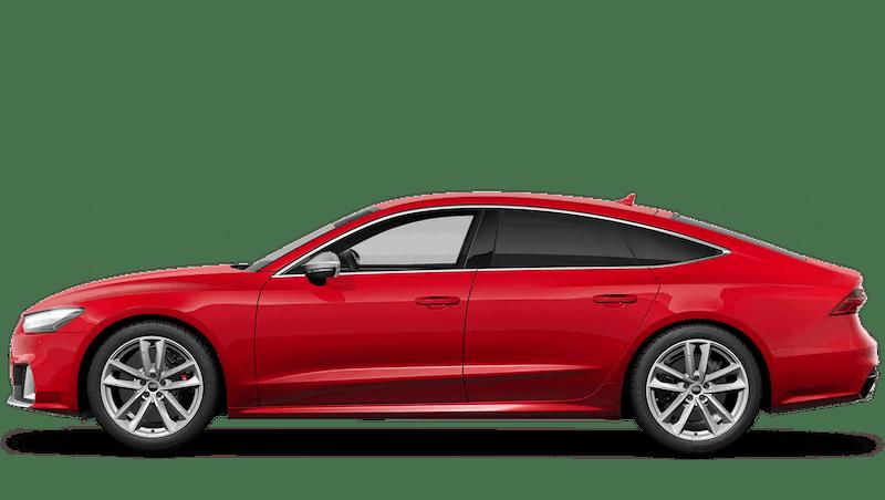 Tango Red (Metallic) Audi S7 Sportback