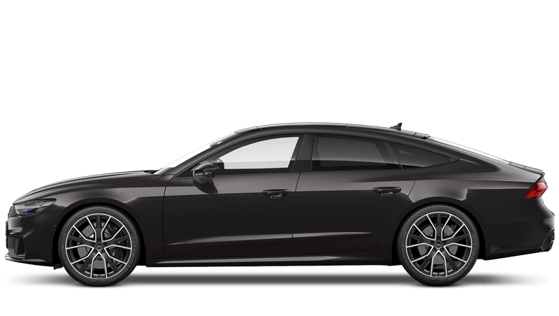 Brilliant Black (Solid) Audi S7 Sportback
