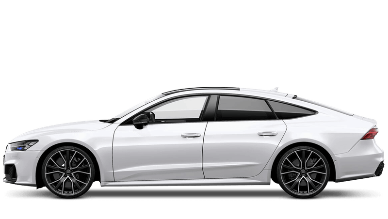 Ibis White (Metallic) Audi S7 Sportback