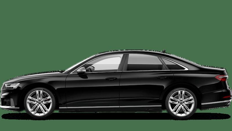 Brilliant Black (Solid) Audi S8