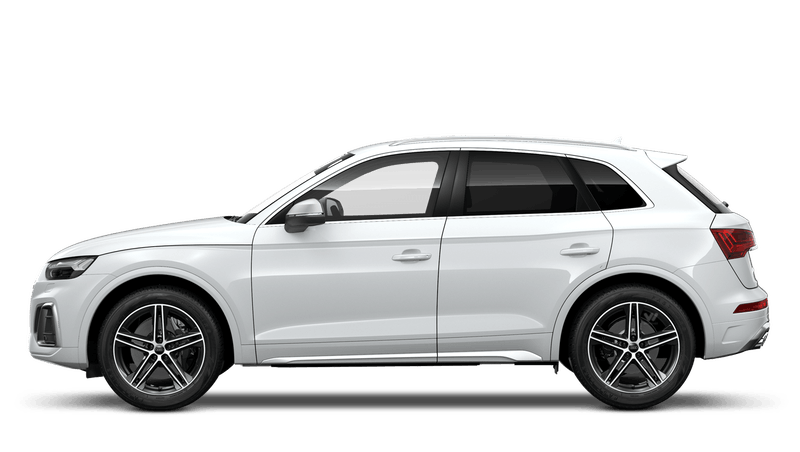 Glacier White (Metallic) Audi SQ5
