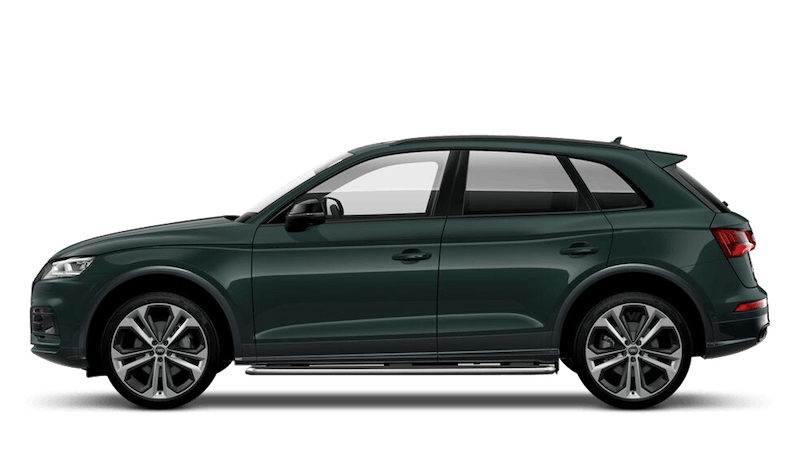 Azores Green (Metallic) Audi SQ5