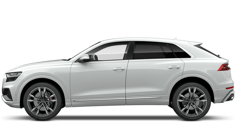 Pure White (Solid) New Audi SQ8