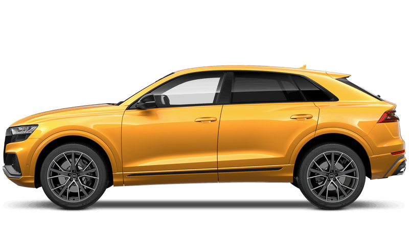 Dragon Orange (Metallic) New Audi SQ8