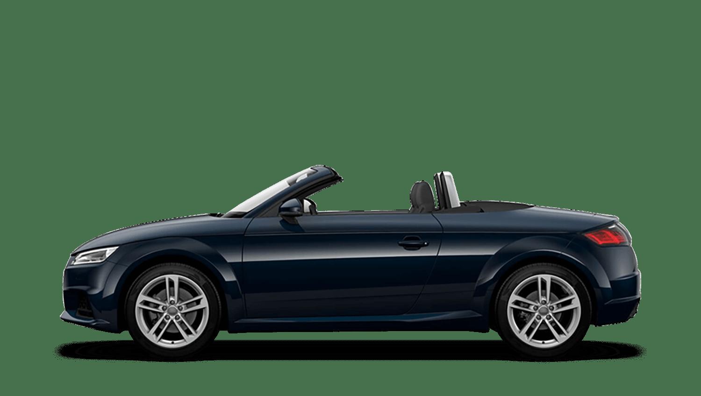 Cosmos Blue (Metallic) Audi Tt Roadster