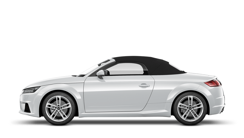 Glacier White (Metallic) Audi Tt Roadster