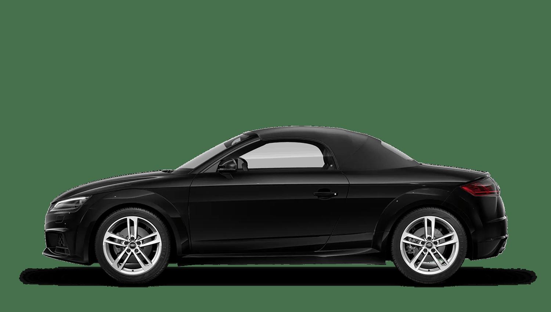Mythos Black (Metallic) Audi Tt Roadster