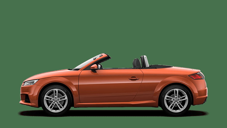 Pulse Orange (Solid) Audi Tt Roadster