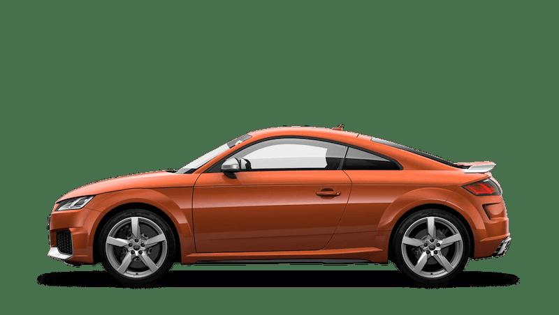 Pulse Orange (Solid) Audi TT RS Coupe