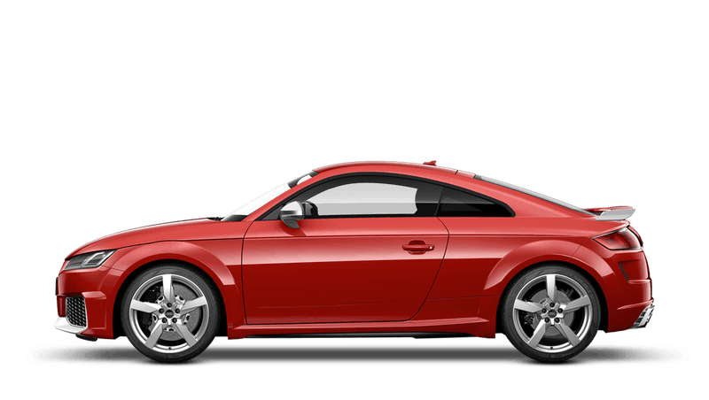 Tango Red (Solid) Audi TT RS Coupe