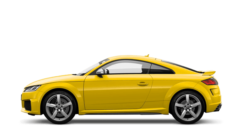 Vegas Yellow (Special Solid) Audi TT RS Coupe