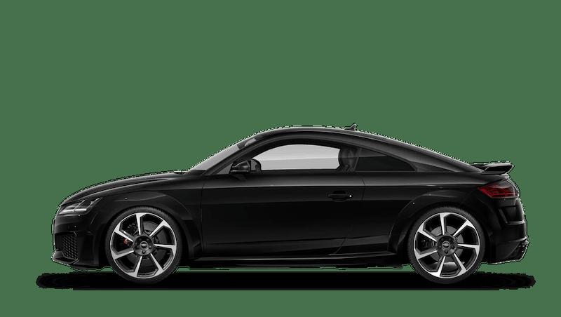 Mythos Black (Metallic) Audi TT RS Coupe
