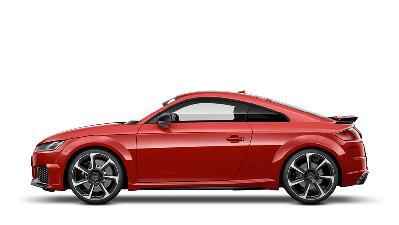 Tango Red (Metallic) Audi TT RS Coupe