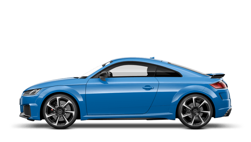 Turbo Blue (Solid) Audi TT RS Coupe
