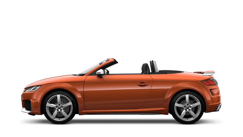 Pulse Orange (Solid) Audi TT RS Roadster