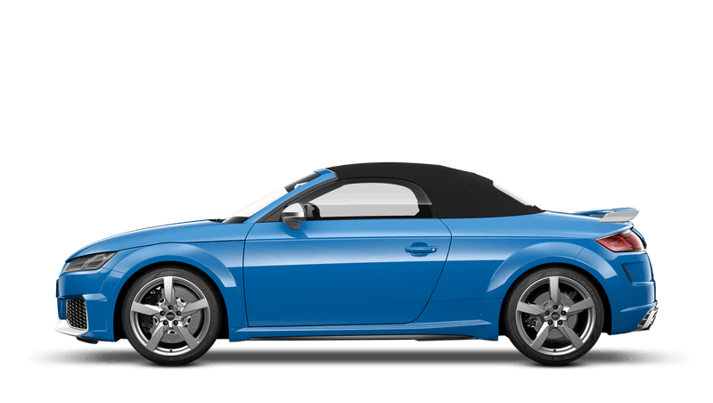 Turbo Blue (Solid) Audi TT RS Roadster