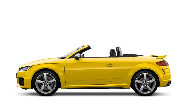 Vegas Yellow (Special Solid) Audi TT RS Roadster