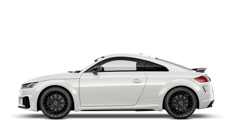 Ibis White (Solid) Audi TTS Coupe