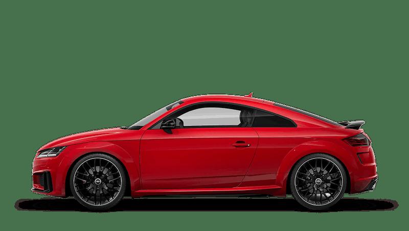 Tango Red (Metallic) Audi TTS Coupe
