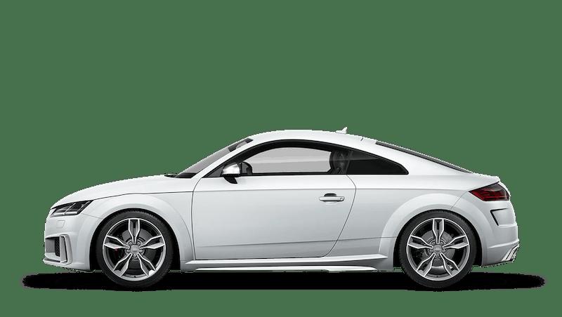 Glacier White (Metallic) Audi TTS Coupe