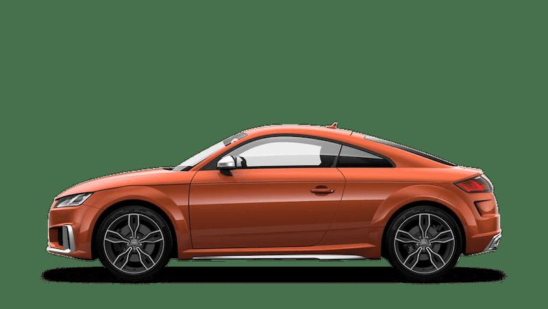 Pulse Orange (Solid) Audi TTS Coupe