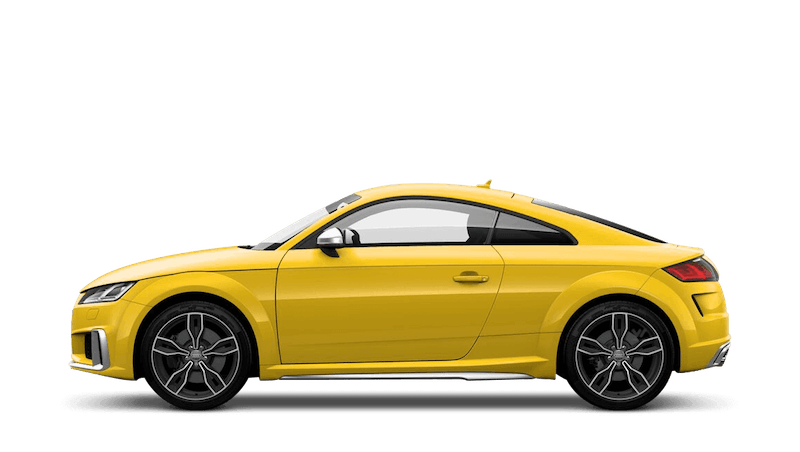 Vegas Yellow (Special Solid) Audi TTS Coupe