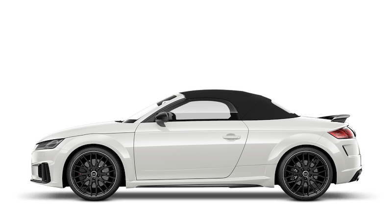 Ibis White (Solid) Audi TTS Roadster