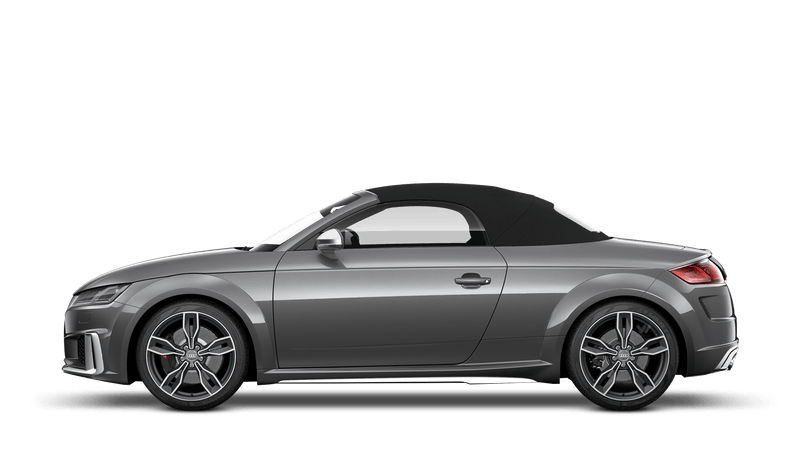 Daytona Grey (Pearl) Audi TTS Roadster
