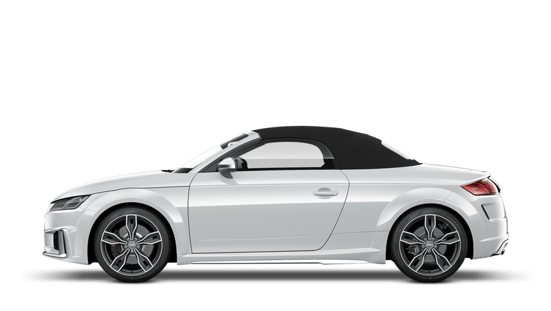 Glacier White (Metallic) Audi TTS Roadster