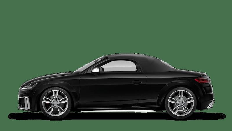 Mythos Black (Metallic) Audi TTS Roadster