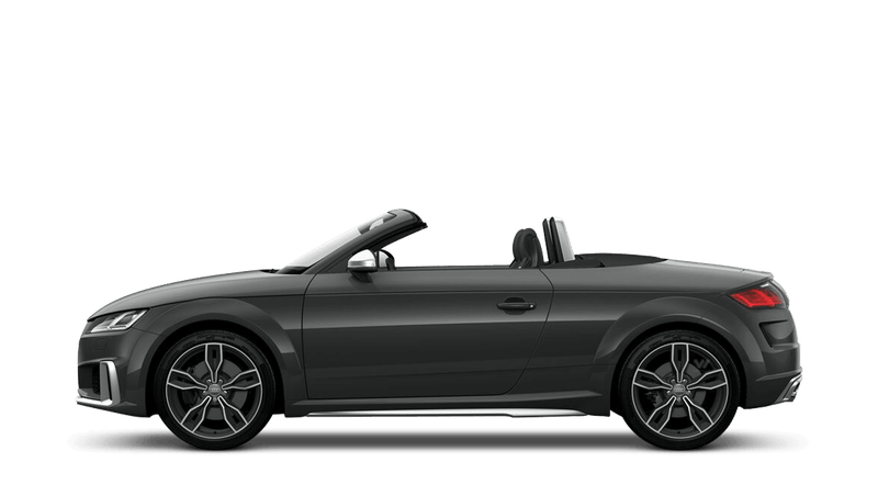 Nano Grey (Metallic) Audi TTS Roadster