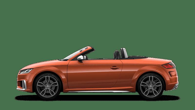 Pulse Orange (Solid) Audi TTS Roadster