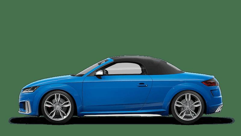 Turbo Blue (Solid) Audi TTS Roadster