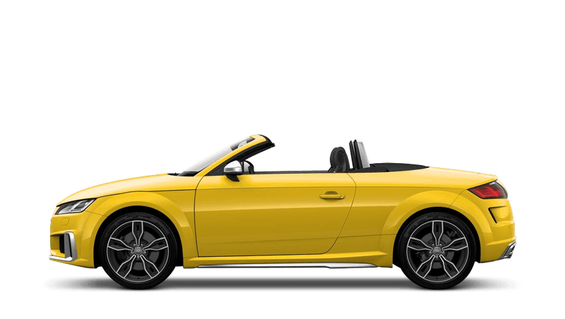 Vegas Yellow (Special Solid) Audi TTS Roadster