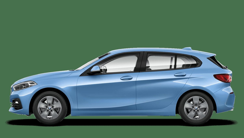 Seaside Blue (Metallic) BMW 1 Series Sports Hatch