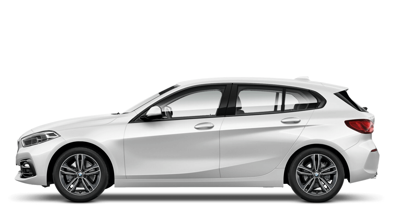 Mineral White BMW 1 Series Sports Hatch