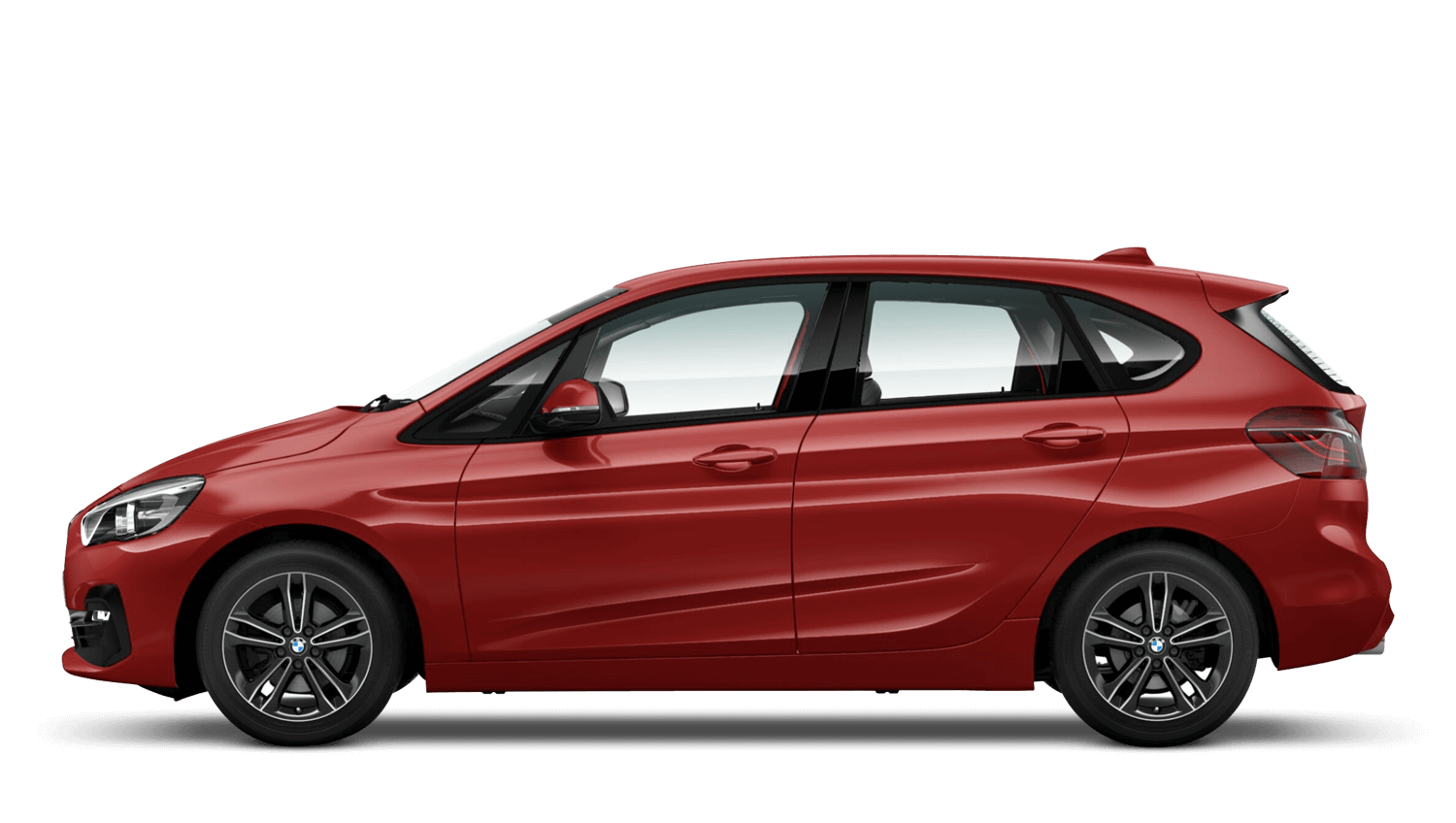 Flamenco Red (Xirallic) BMW 2 Series Active Tourer