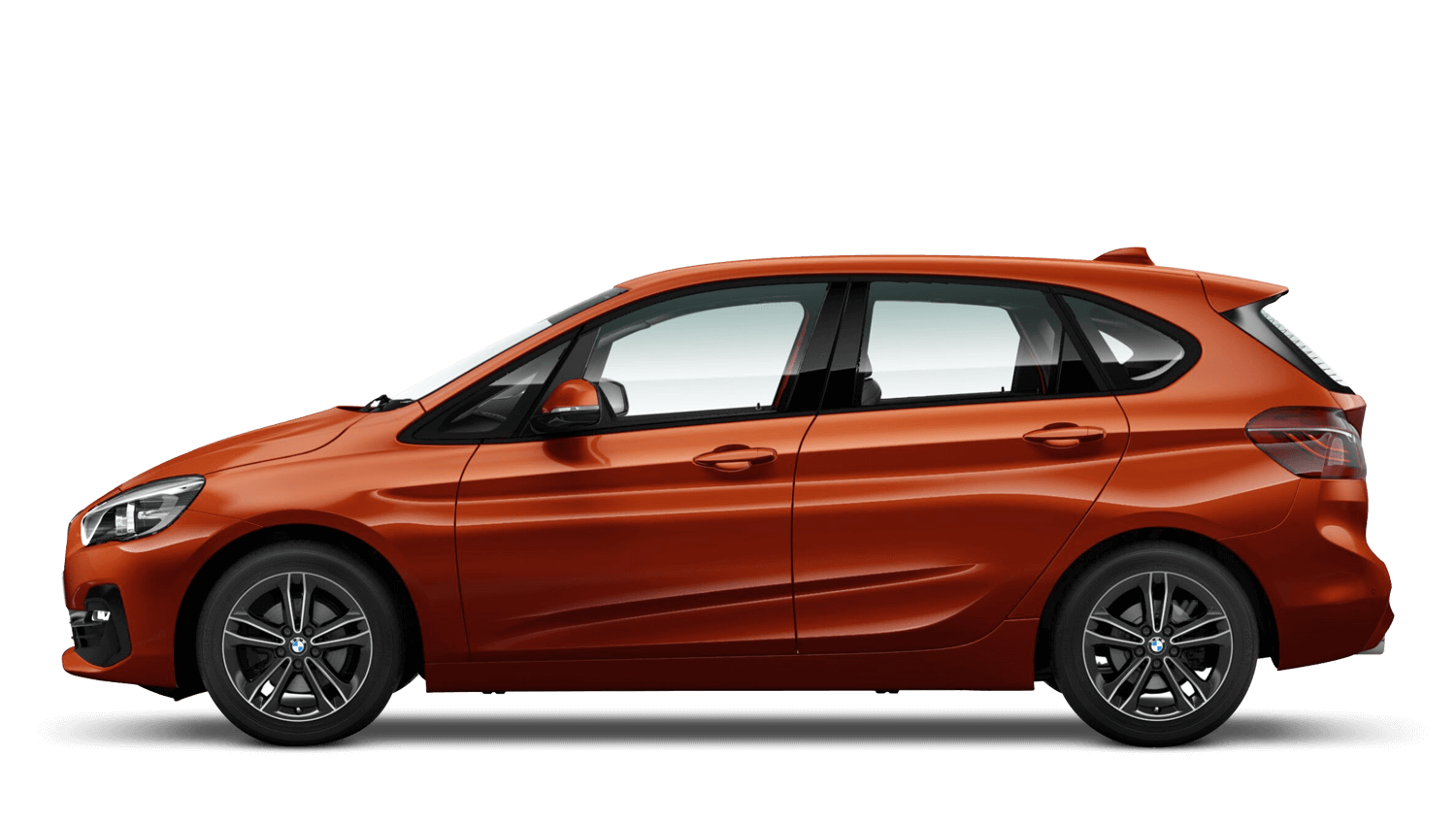 Sunset Orange (Metallic) BMW 2 Series Active Tourer